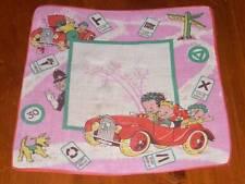 Vintage Unique Road Trip Cool Child Hanky Handkerchief Hankies