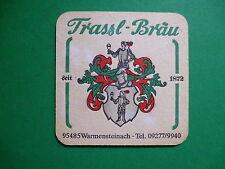 Beer Coaster: Trassl-Brau, Privatbrauerei Hösl Mitterteich; Mitterteich, Germany