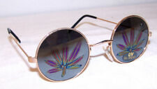 24 pair POT LEAF REFLECTION SUNGLASSES eyewear glasses