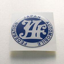 JAF japan automobile federation Sticker Decal soft coated COROLLA KE20 KE30 KE70
