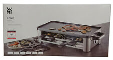 WMF LONO Raclette Grill 1500 Watt inkl. 8 Pfannen Raclettegrill Tischgrill
