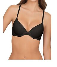 Secret Treasures T-Shirt Bra 40D Underwire Solid Black Adjustable Straps