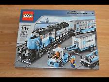 LEGO 10219 Creator MAERSK TRAIN set NEW IN DAMAGED BOX
