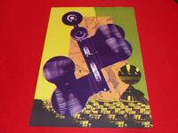 """[Coll. R-JEAN MOULIN ART XXe] CLAUDE VISEUX (FR) LITHOGRAPHIE """"Aléatoires"""" 1984"""