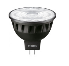 PHILIPS Master LED MR16 LAMP, 12V, 6.5W (=35W), Dimmable