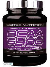 scitec nutrition bcaa 6400 375 Tab(39,81€/Kg) essentielle aminosäuren amino acid