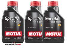 Aceite Motul Specific VW Audi Seat Skoda 50501 50200 50500 5W40, pack 3 litros