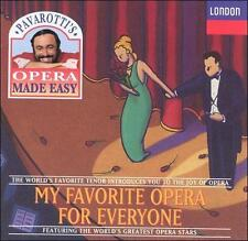 My Favorite Opera For Everyone, New Music FREE SHIPPING!!