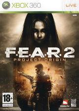 ELDORADODUJEU >>> FEAR 2 PROJECT ORIGIN Pour XBOX 360 NEUF VF