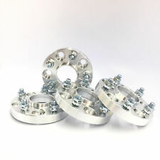 """4pc 1"""" Thick Wheel Spacers with Lip 