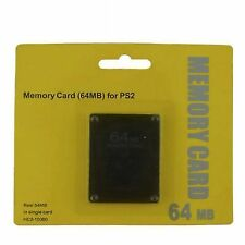 64mb Memory Save Card for PlayStation 2 Ps2 Console Game Z1m9