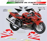 ADESIVI MOTO PER CBR 600 F SPORT Rossa KIT COMPLETO