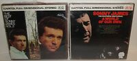SONNY JAMES REEL TO REEL TAPE LOT Best of Vol. 2 A World of Our Own Vintage New