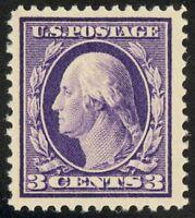 376 - 3c Washington - Stunning Mint NH Single