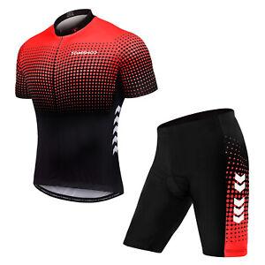 (无起订量,有现货)TOM SHOO Men's Summer Short Suits Cycling Set CyclingJersey with P2X7