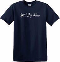 White Widow T shirt - Black - Cannabis Strain Weed Marijuana Leaf 420 Pot Shirt