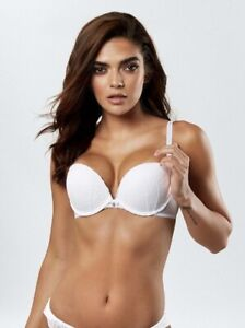 SALE! Ann Summers SEXY LACE EXTREME BOOST BRA, White *NEW* RRP£18
