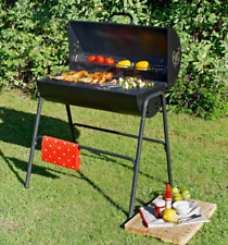 Charcoal Barbeque Smoker BBQ Grill Garden Portable Outdoor Cooking Camping Patio
