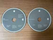 Apple iMac OS X 10.5.2 Installations DVDs