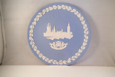 Vintage Wedgwood Christmas 1974 Collector Plate Houses of Parliament