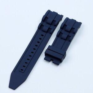 26mm Silicone Rubber Watchband Strap For Invicta Pro Diver