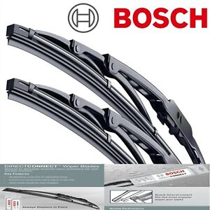 Bosch Wiper Blades Direct Connect for 1980-1986 Ford LTD Left Right Set of 2