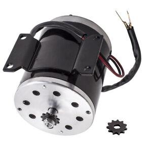 500W 24V DC electric brush motor for scooter bike go-kart minibike 2500 RPM