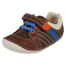 Scarpe casual con lacci marrone per bambini dai 2 ai 16 anni