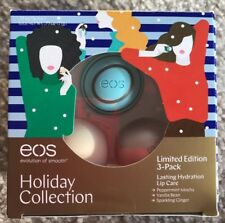 NEW EOS LIMITED EDITION Peppermint Vanilla Sparkling Ginger Lip Balm NEW