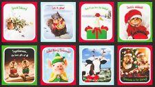 1 x Santa's Sidekicks Cushion Fabric Panel Christmas Digitally Printed 16690-223