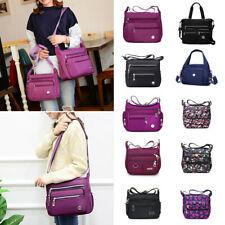 Women's Nylon Waterproof  Handbag Purse Ladies Crossbody Travel Shoulder Bag