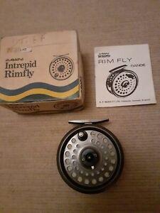 Vintage Intrepid Rimfly fly fishing reel
