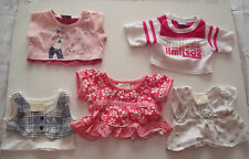 BUILD A BEAR LIMITED EDITION TOPS FOR OUTFITS - BUNDLE - LOTS