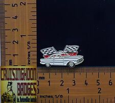 XP Ford Futura Falcon White  2 Door Quality Metal Lapel Pin / Badge