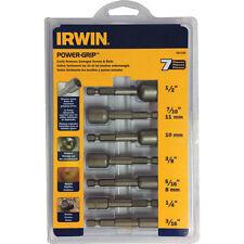 Irwin 7 piezas poder-Grip ™ Tornillo Extractor Set 3/8in - 1/2in.