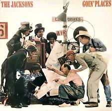 THE JACKSONS - Goin' Places (LP) (G-VG/G)