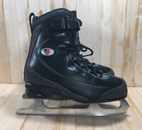 Riedell  black figure ice skates size 3  0108