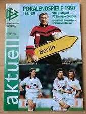 1 BL 81//82  VfB Stuttgart TIP FC Köln