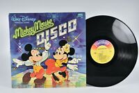 Walt Disney Mickey Mouse Disco Album 1979 Disneyland Records 33 RPM Vinyl Record
