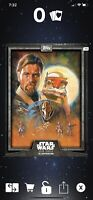 Topps Star Wars Card Trader Illusrtrated Wave 3 GRAY Surounded By Troopers