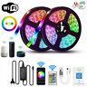 10M 5M LED Strip Light RGB tape lamp Waterproof Alexa Google Smart WIFI Full Kit