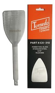 """TORPEDO Windshield  Removal Tool Express Auto Glass Cut Out Blade Tool 3"""" X 10"""""""
