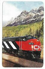 CANADIAN NATIONAL'S Super Continental in the heart of the Canadian Rockies