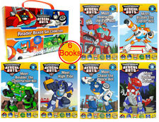 Transformers Rescue Bots Reader Box Set Collection Level 1 (2016, Paperback) NEW