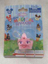 Walt Disney World Mini Magical Kingdom PINK PRINCESS GIRL CROWN Keychain Figure