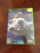 Baldur's Gate: Dark Alliance (Microsoft Xbox, 2002) Unscratched Disk NG3