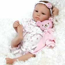 Paradise Galleries 17.5 inch Realistic Newborn Baby Girl Doll - Bundle of Joy