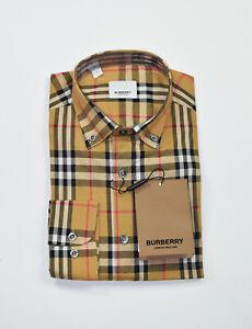 Burberry Men's casual shirt dress shirt