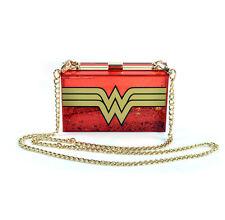 Wonder Woman glitterbox Borsa A Tracolla