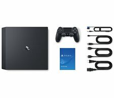 SONY Play Station4 Pro Jet Black 1TB CUH-7000BB01 F/S from Japan Brand New PS4